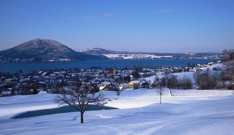 Weyregg im Winter (© Marianne Mühlbacher)