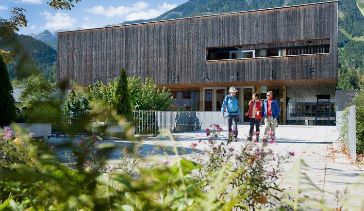 Veranstaltungszentrum Hösshalle (© Gemeinde Hinterstoder)