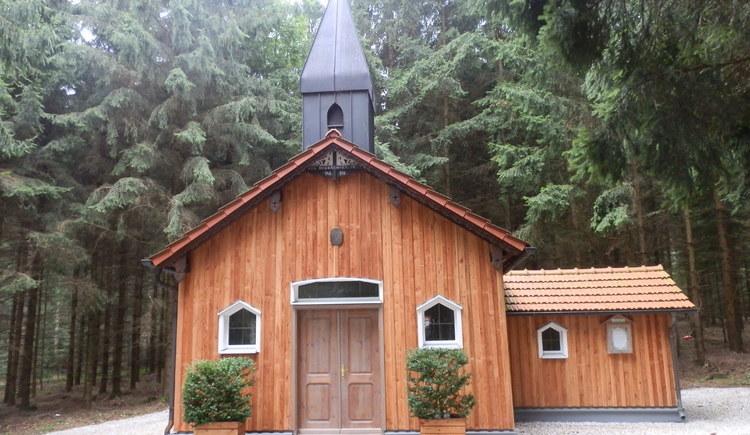 Heimkehrerwaldkapelle in Rossbach - Friedens-Weg in Rossbach und St. Veit im Innkreis