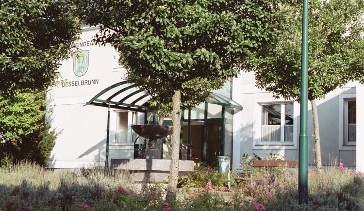 Desselbrunn Gemeindeamt. (© TTG Tourismus Technologie)