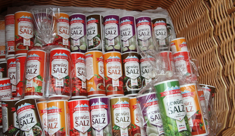 Also salt from the mountain can be bought at the Hallstatt Shop. (© Christine Peinsteiner)