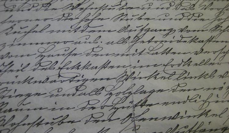 Schriftkurse im  Bartlhaus in Pettenbach (© Schriften- und Heimatmuseum Bartlhaus)