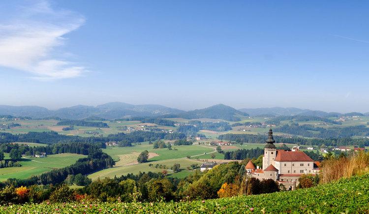 Aussicht Schloss Weinberg (© OOETM/Röbl)