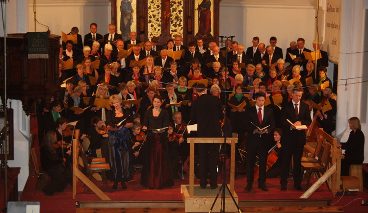 The concert in the church is the finish of the Gosuer singing weeks