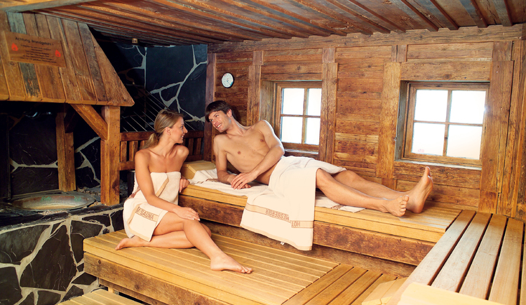 Teufelssauna im ****S Genuss- und Wellnesshotel Almesberger (© ****S Almesberger)
