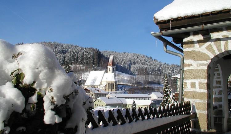 Hirschbach im Winter