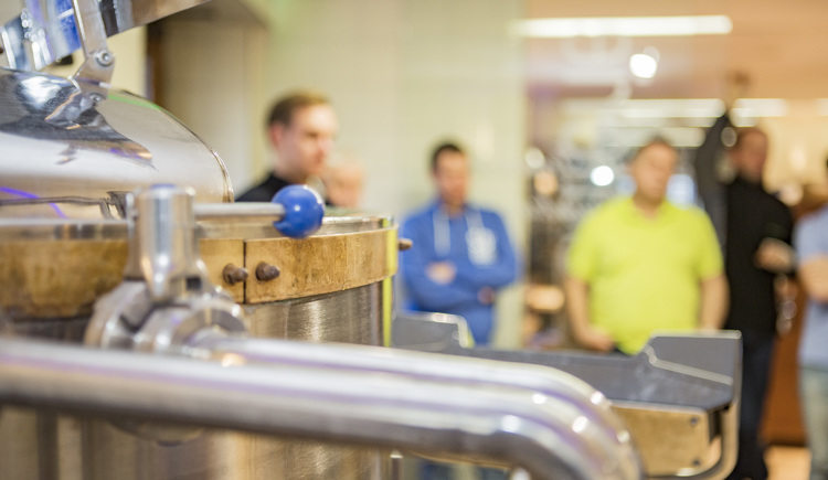 Brauereiführung durch die Brauerei Ried (© Brauerei Ried)