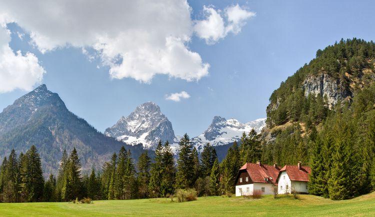 Panorama mit Prielgruppe (© TVB Pyhrn-Priel/Sulzbacher)