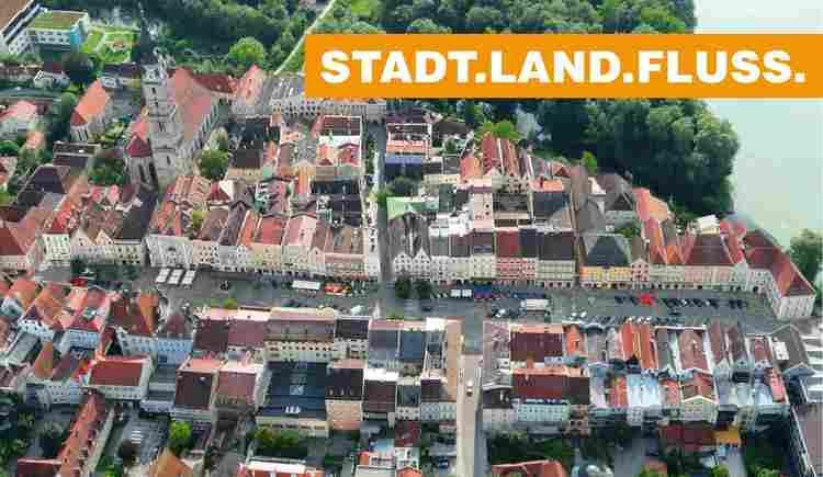 Stadtplatz Braunau am Inn (© airpix.at)