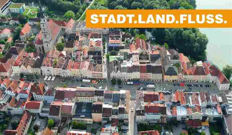 Stadtplatz Braunau am Inn (© airpix.at)
