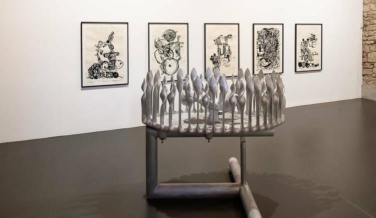 Ausstellung in der Galerie am Stein im Stift Reichersberg. (© Galerie am Stein)