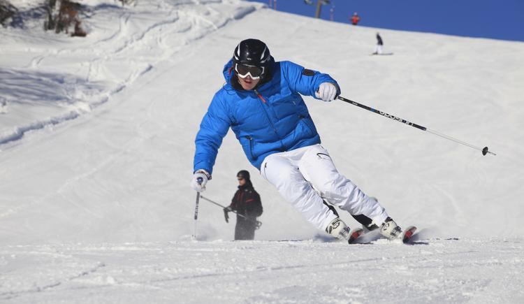 Skifahren auf der Postalm Welserlift. (© Gerd Girbl)