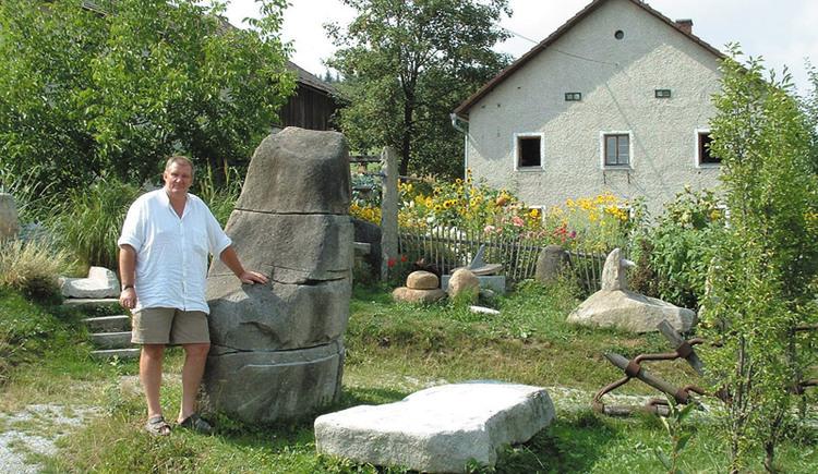 Bildhauer Gerhard Eilmsteiner