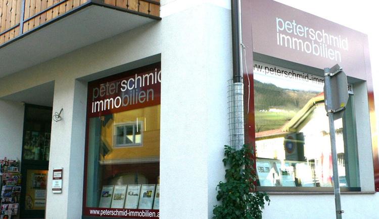 Hausansicht Immobilienbüro Schmid