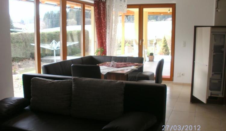 Couchbereich Ferienwohnung