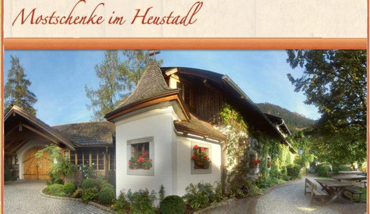 Mostschenke im Heustadl (© Familie Steinkogler)