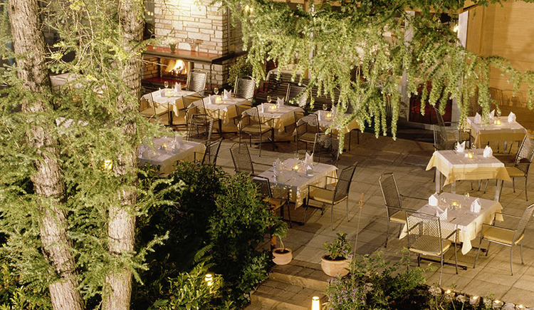 Hotel Seewirt, Terrasse