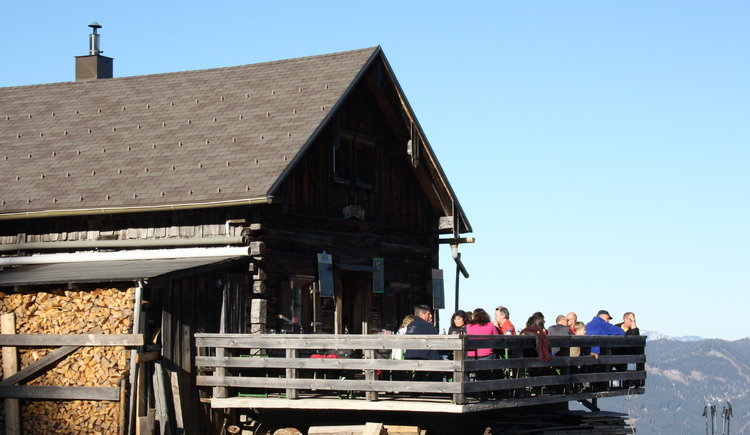 The Breininghütte at the Zwieselalm