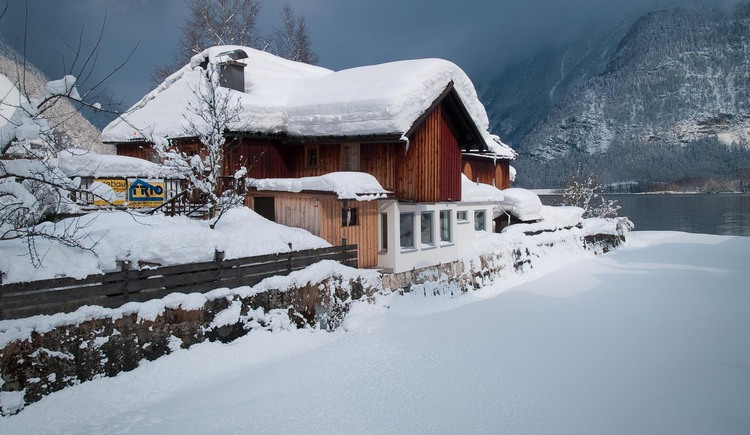 The Loft am See in Hallstatt is even in winter a perfect Apartment