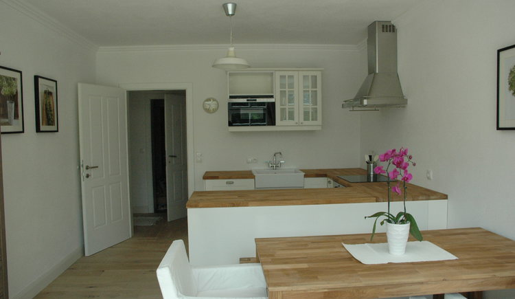 Landhaus Roidergütl - Familie Laimer: Küche Apartment 1