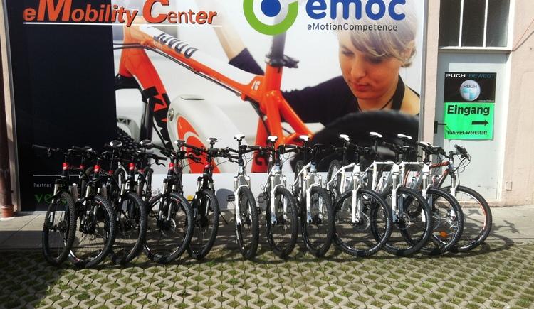 e-Bike Verleih, Kaloveo, emoc, Linz