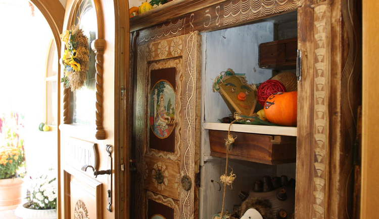 Spitzerwirt, Eingang ins Gastzimmer. (© Spitzerwirt)
