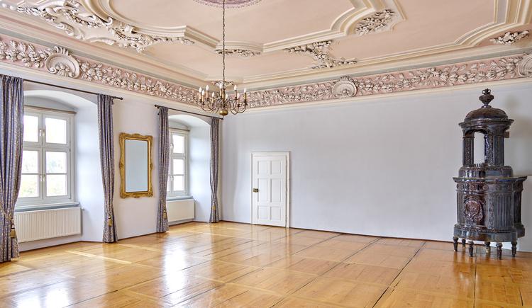 Seminarraum im Bildungszentrum Stift Reichersberg. (© www.pedagrafie.de)