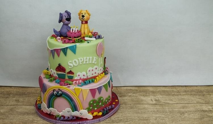Torte Kinder-Geburtstag (© Schleckermaeulchen)