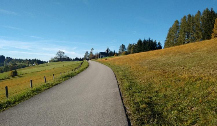 Gahberg Blick Richtung Hoellengebirge