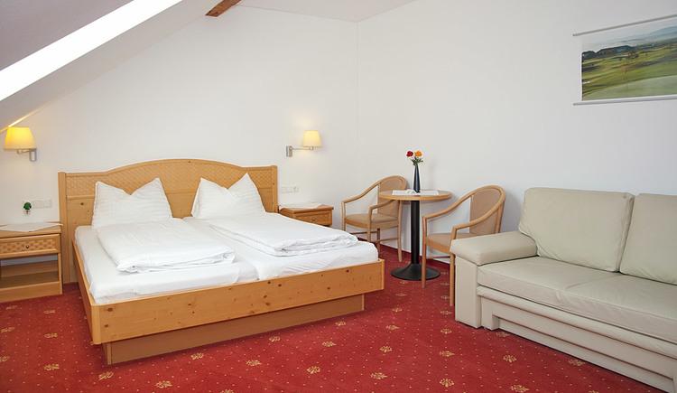 Doppelzimmer im Hotel Metzenhof