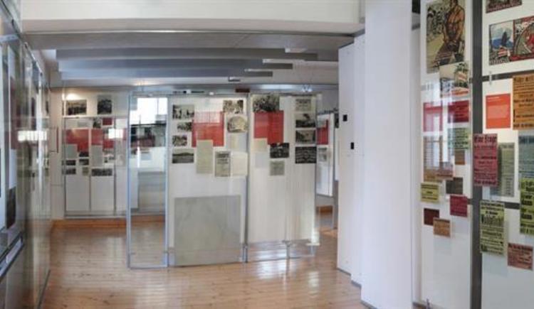 Panoramaufnahme innen (© Zeitgeschichtemuseum Ebensee)