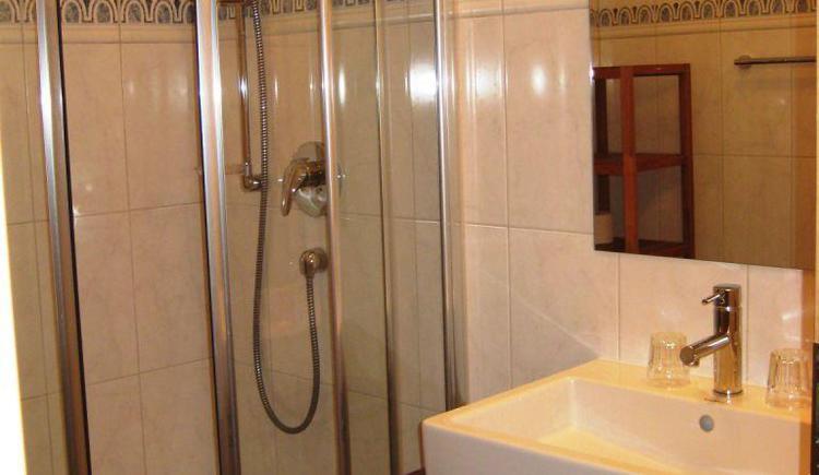 Badezimmer (© Wesenauerhof)