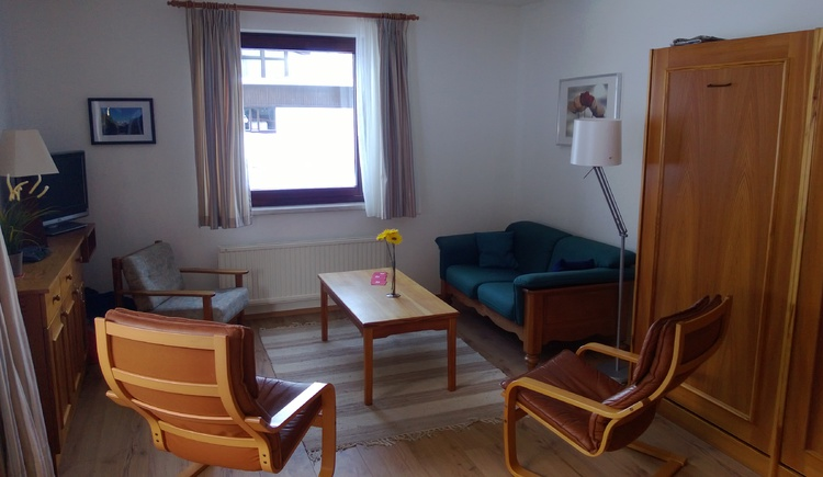 Living room in our apartment