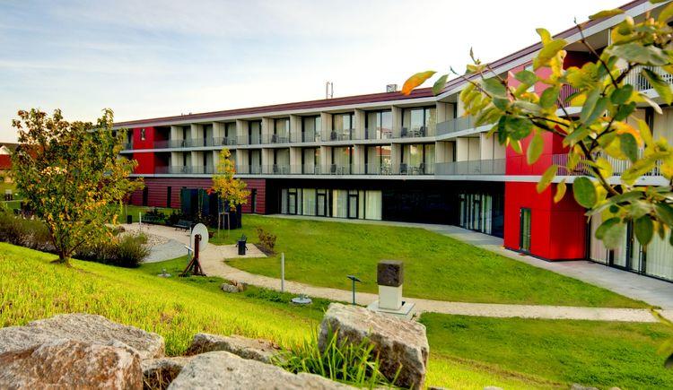 Gartenansicht Spa Hotel Bründl, Bad Leonfelden. (© Spa Hotel Bründl)
