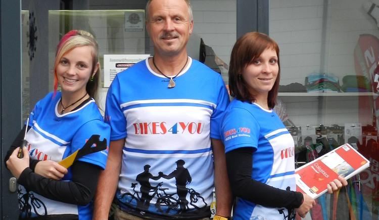 Das Team von Bikes4you aus Bad Goisern