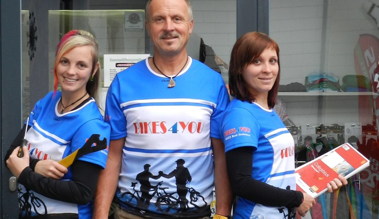 Das Team von Bikes4you aus Bad Goisern. (© Bikes4you, Hemetzberger)