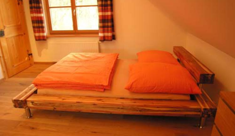 Schlafbereich im Dachatelier (© 13)