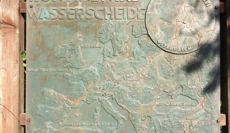 Kontinentalwasserscheide Leopoldschlag (© Tourismusverband Mühlviertler Kernland/Bergsmann)