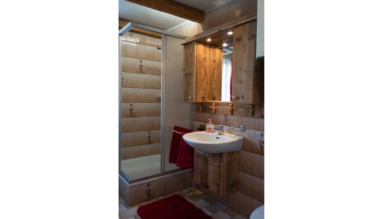 Appartment Christine - Traumblick Badezimmer