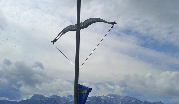 Gipfelkreuz am Eibenberg (© Tourismusbüro Ebensee)