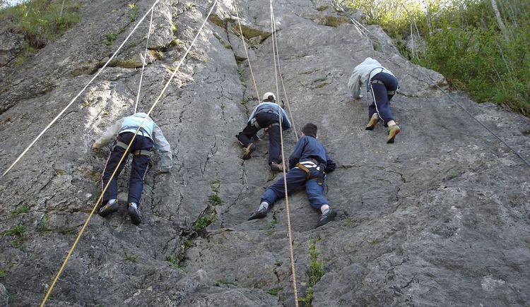 Klettern (© lebenextrem)