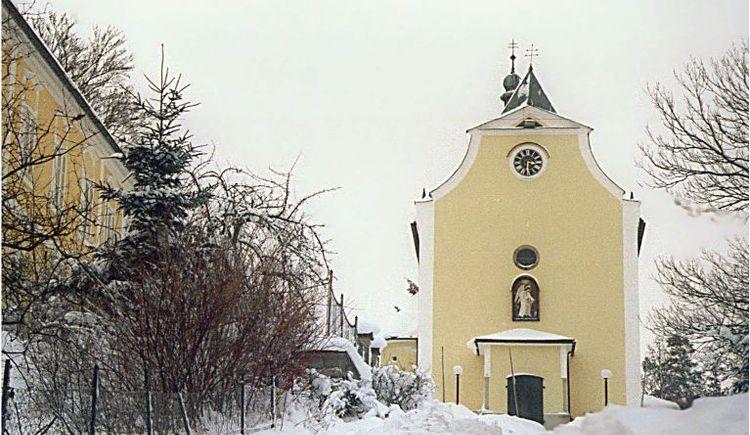 Dieser Wanderweg führt sie zur Wallfahtskirche Maria Trost.
