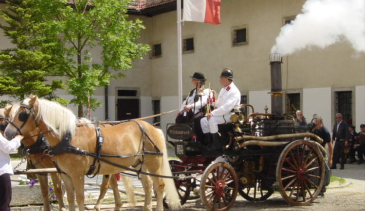 Oldtimer Feuerwehrspritze (© Tourismusverband St. Florian)