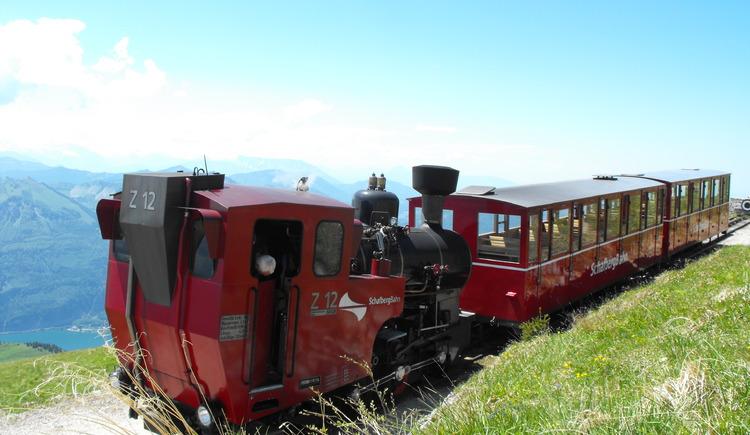 Schafbergbahn Dampfeisenbahn der einfache Weg um an die Spitze der Schafberg bekommen