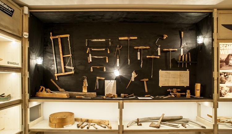 Ausstellungsraum. (© Schiffleut v.o.Donautal)