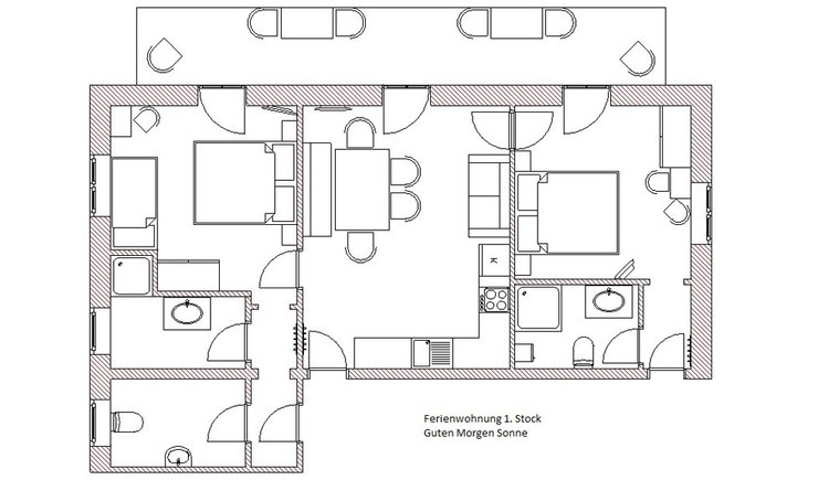 Plan of the room Division of the apartment