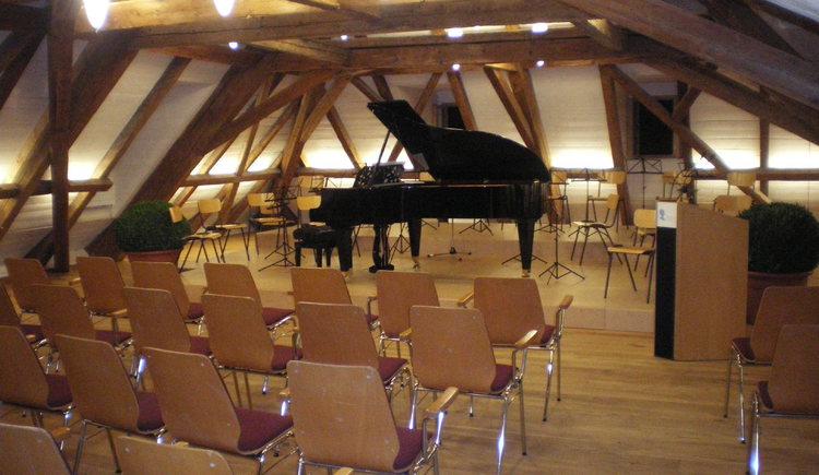 Veranstaltungssaal im Mozarthaus St. Gilgen