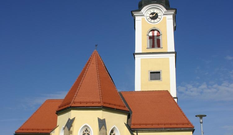 Pfarrkirche St. Marienkirchen. (© Gemeinde St. Marienkirchen)