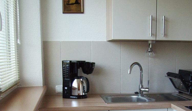 Kitchen, coffee machine