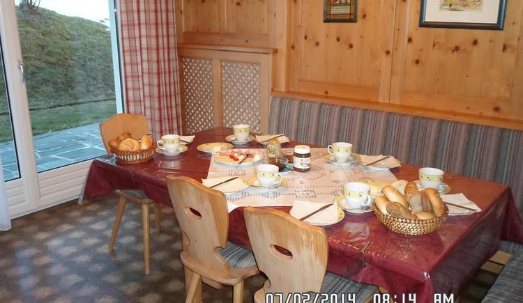 Frühstück im Haus Mösenbichler (© Elfriede Mösenbichler)